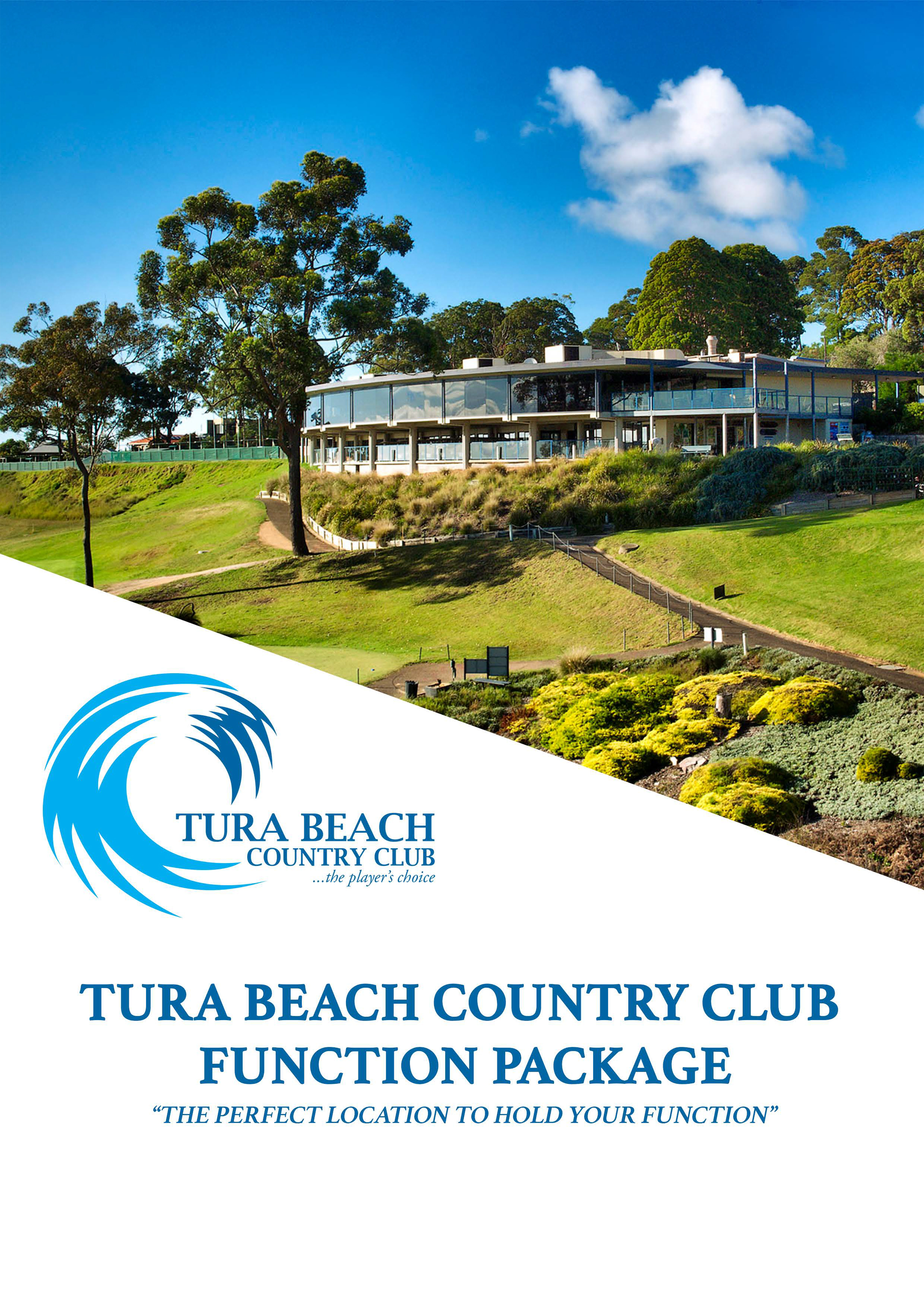 functions at Tura Beach Country Club