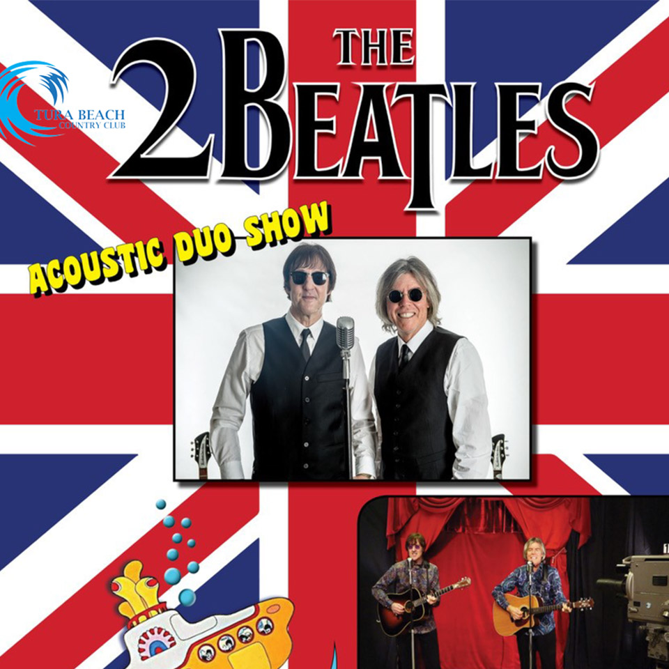 2beatles acoustic duo show tura beach country club