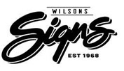 Wilsons Signs