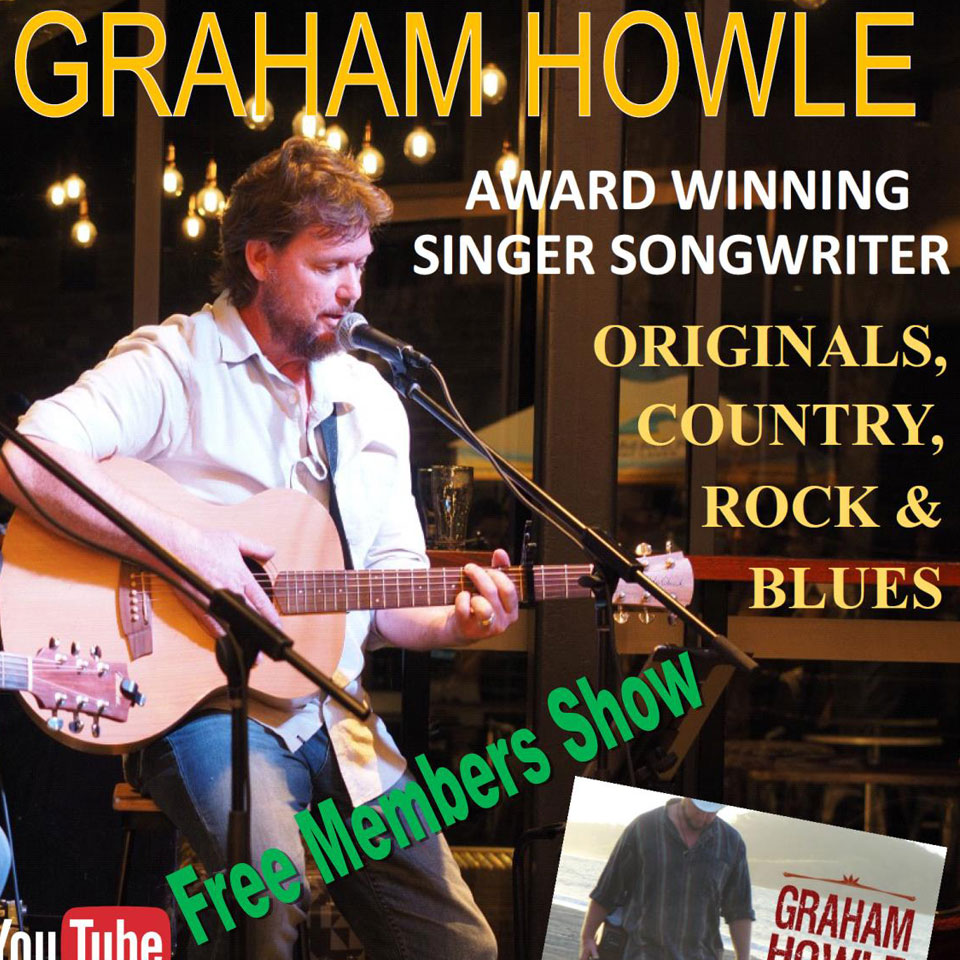graham howle appearing at Tura Beach Country Club