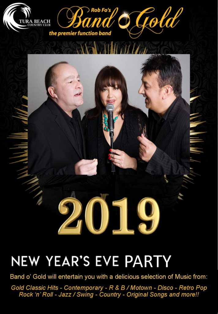 NYE entertainment at the Tura Beach Country Club