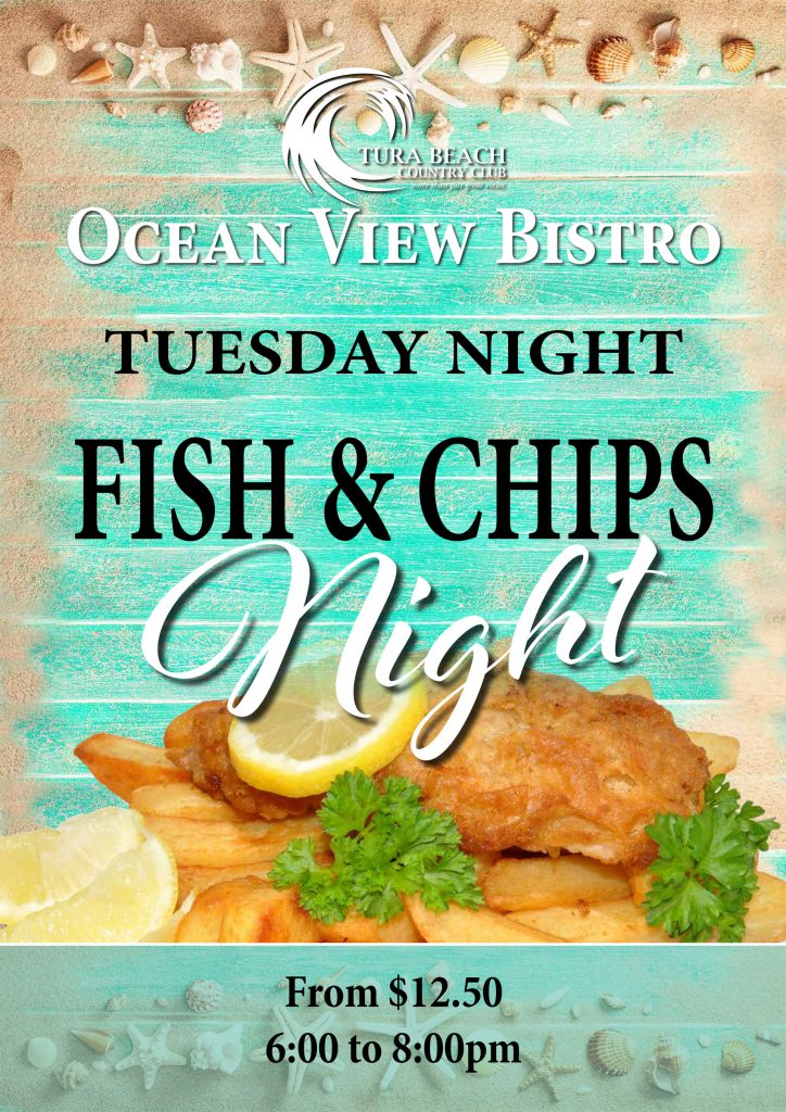 Tuesday night fish and chips