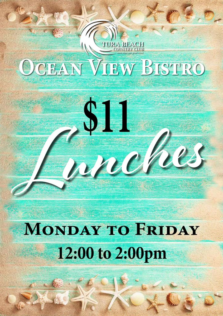 $11 lunch specials